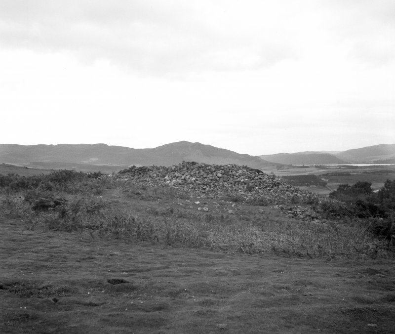Edderton Hill, Red Burn, cairn.