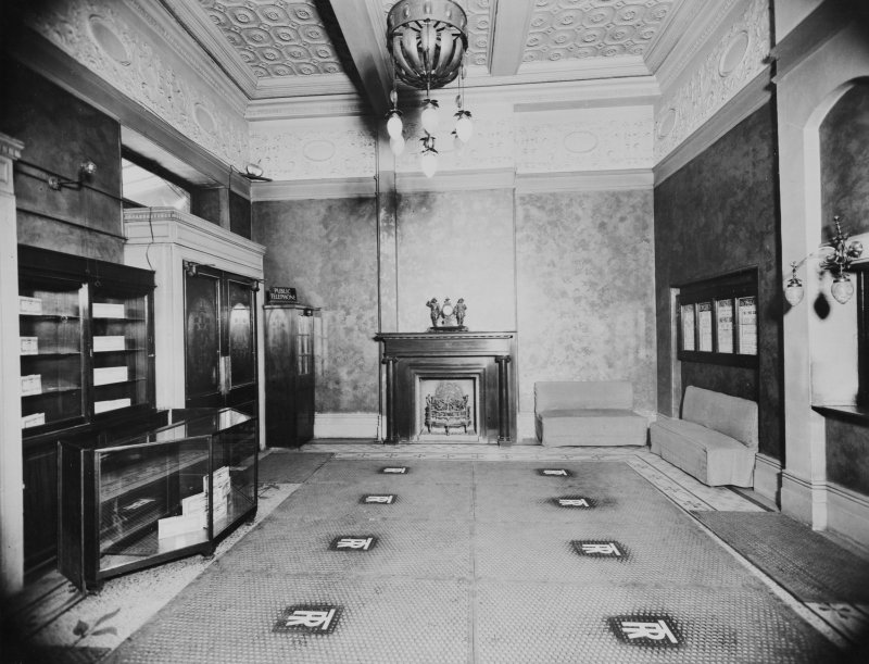 254 - 290 Hope Street, Theatre Royal, interior View of foyer