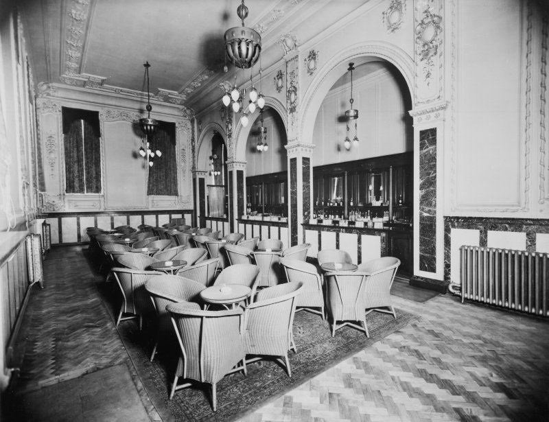 254 - 290 Hope Street, Theatre Royal, interior View of bar