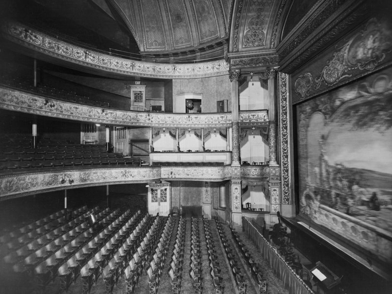 254 - 290 Hope Street, Theatre Royal, interior General view of auditorium