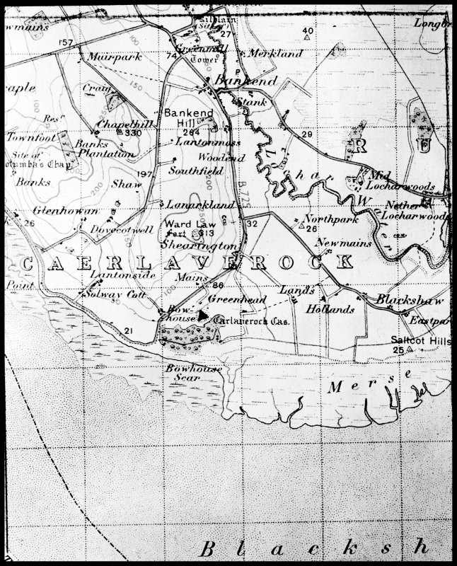 photographic copy of map.