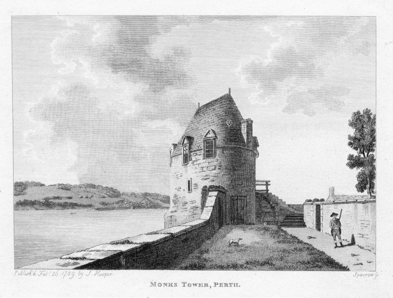 General view of Monk's Tower, Perth.