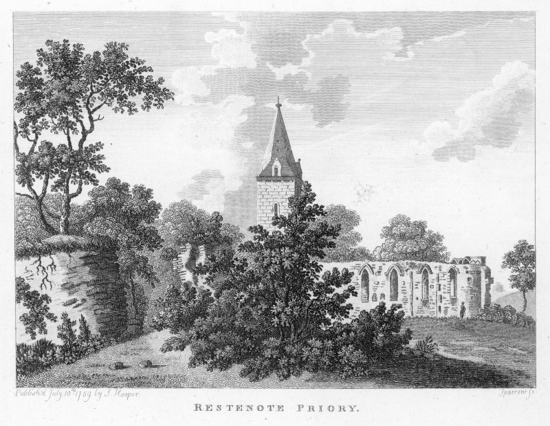 General view of Restenneth Priory.