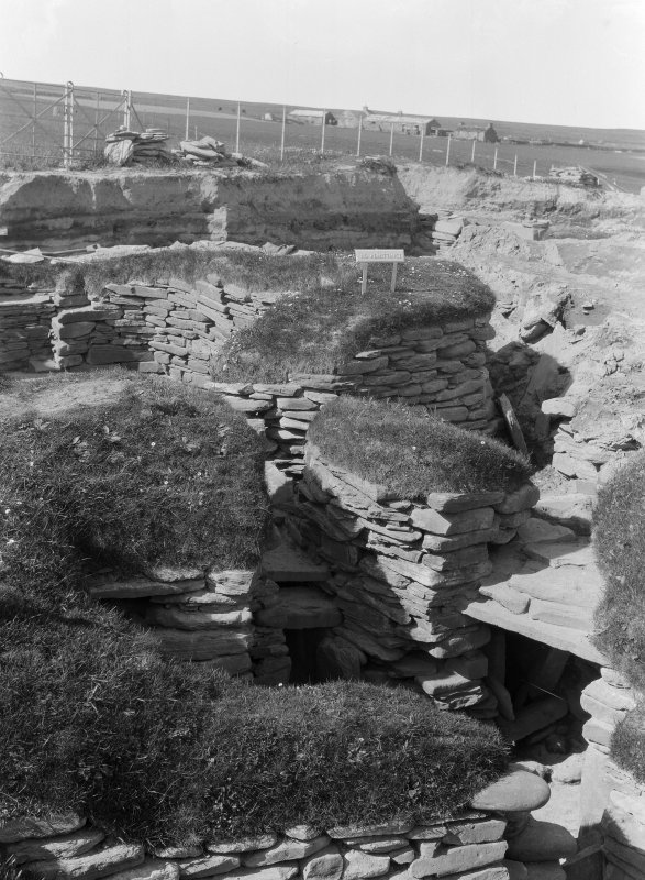 Excavation Photograph: Hut 7 exterior.