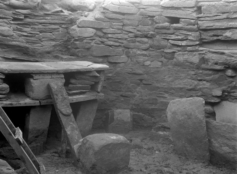 Excavation Photograph: House 7, dresser.