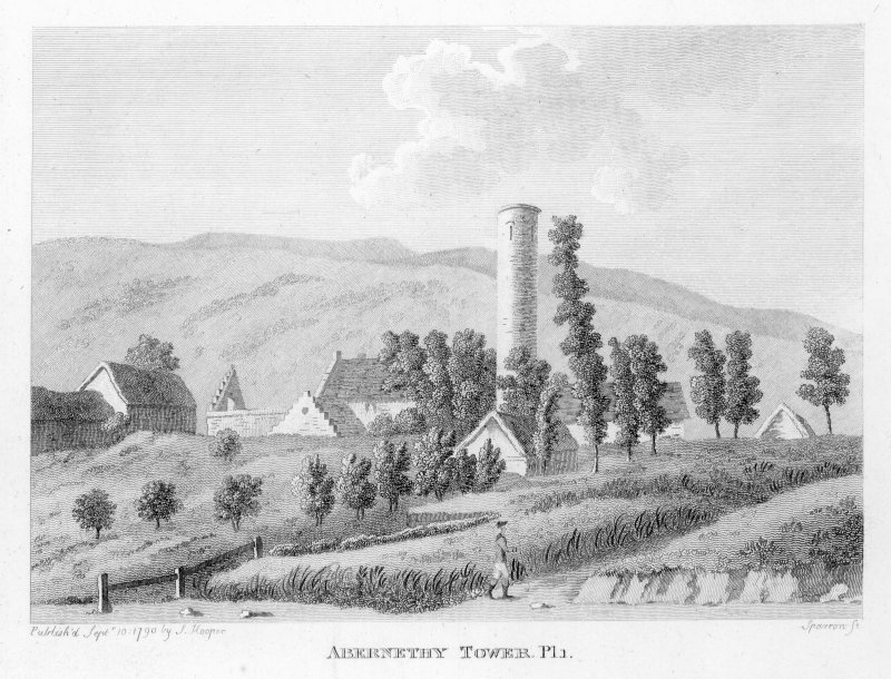 View of Abernethy Tower.