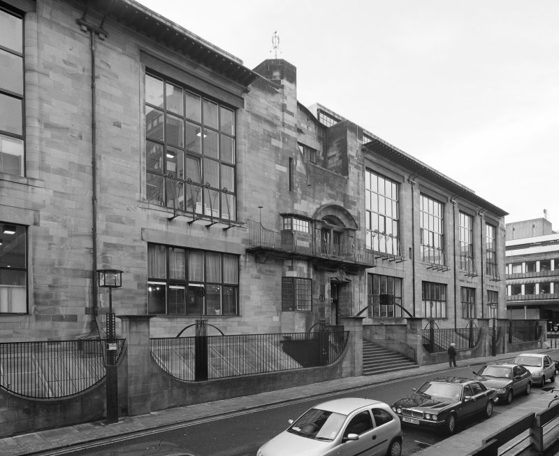 View  of Glasgow School of Art from NE.