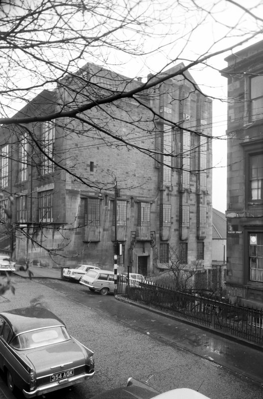 View of Glasgow School of Art.