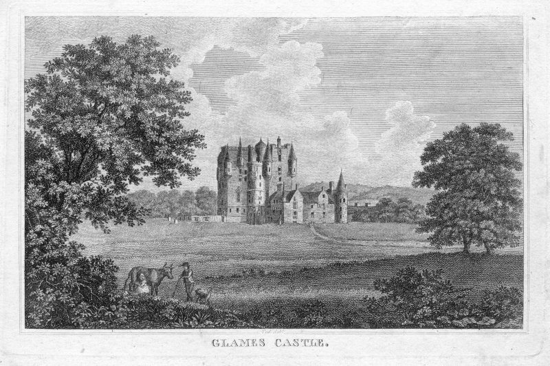 General view, Glamis castle.