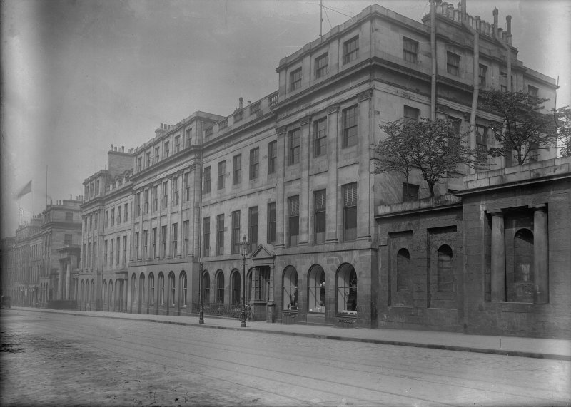 View of south elevation of 25 Waterloo Place, Edinburgh