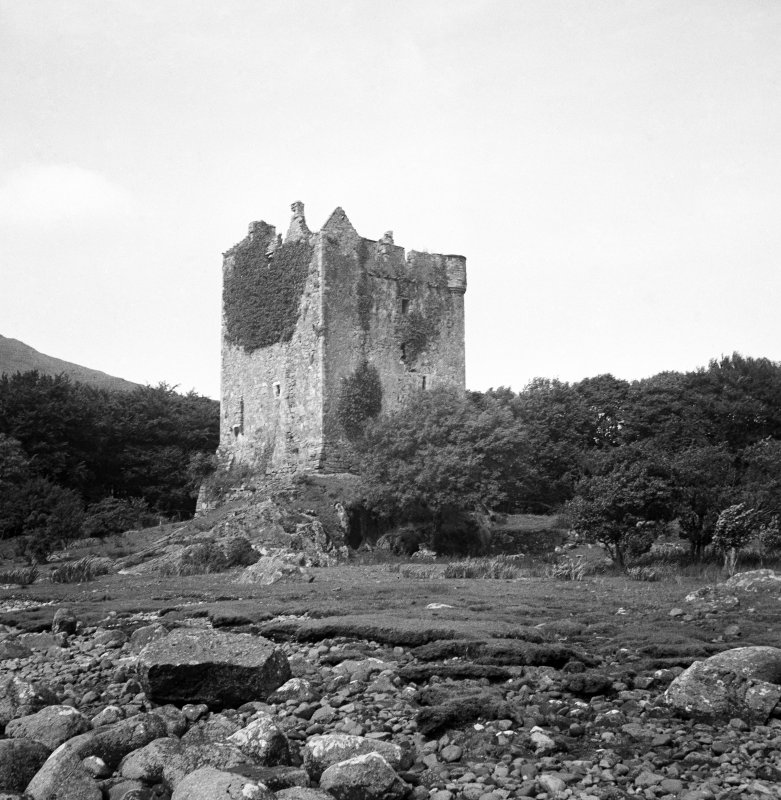 Mull, Moy Castle. General view from South-West.