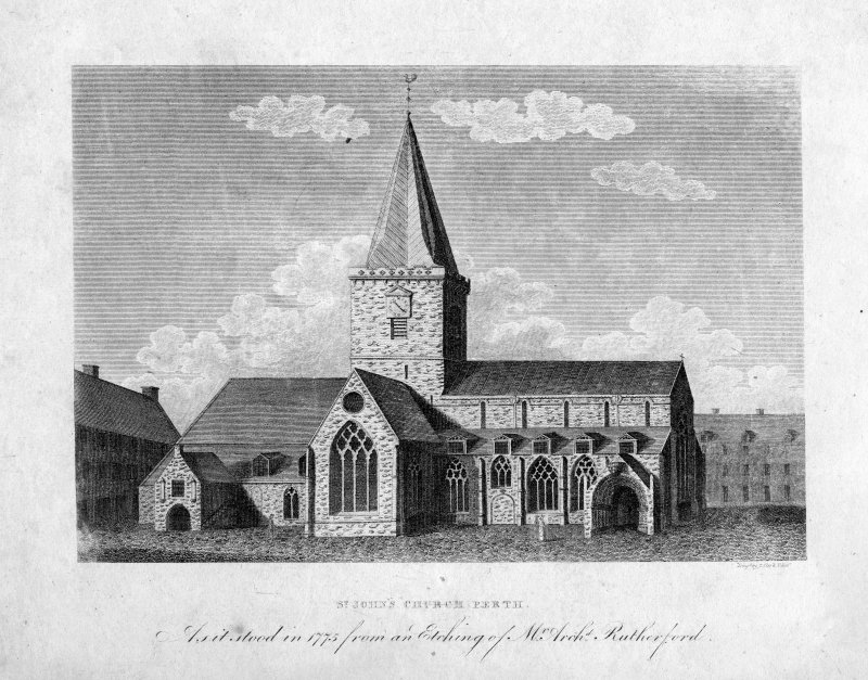General view of St John's Church, Perth.