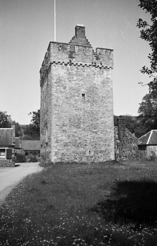 General view of tower from South-East.