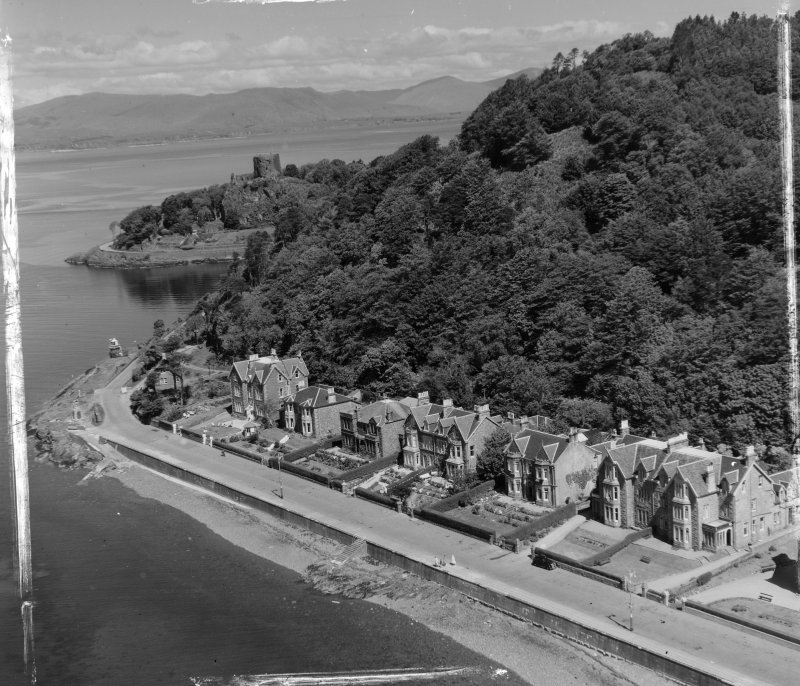 Oban Kilmore and Kilbride, Argyll, Scotland. Oblique aerial photograph taken facing North. This image was marked by AeroPictorial Ltd for photo editing.