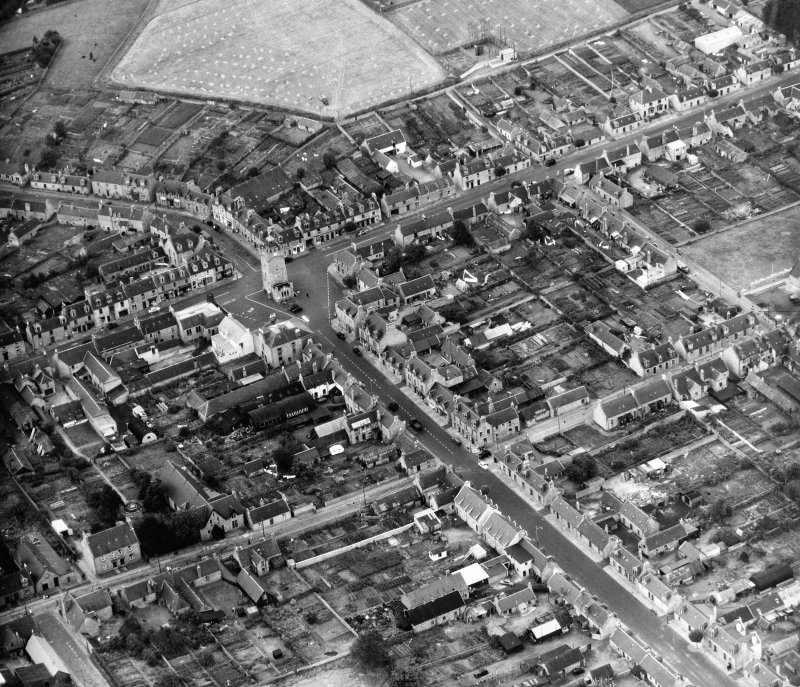 General View Mortlach, Banff, Scotland. Oblique aerial photograph taken facing South.