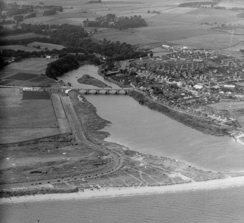 Bridge of Don Aberdeen, Aberdeenshire, Scotland. Oblique aerial photograph taken facing West.