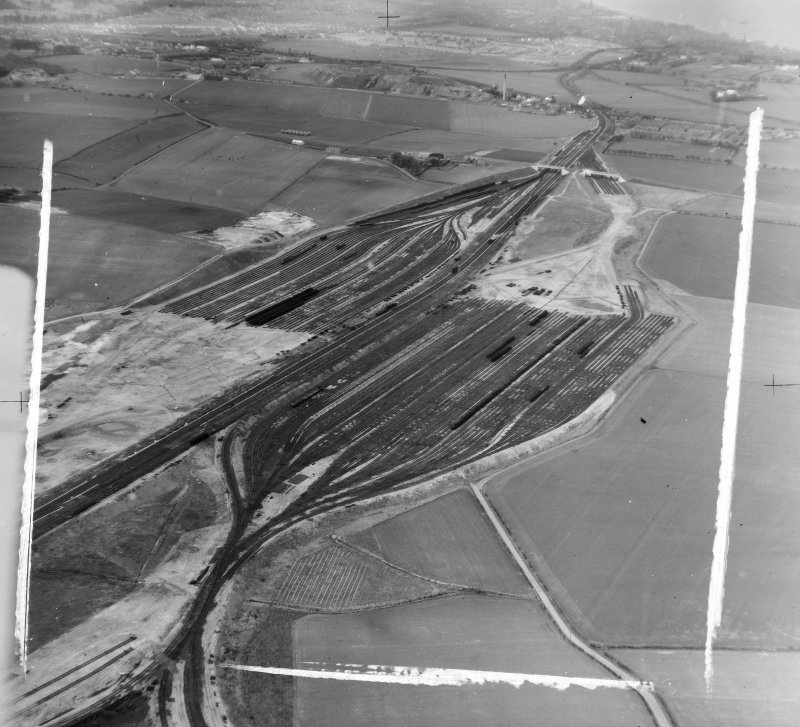 General View, Edinburgh, Midlothian, Scotland. Oblique aerial photograph taken facing North/West.