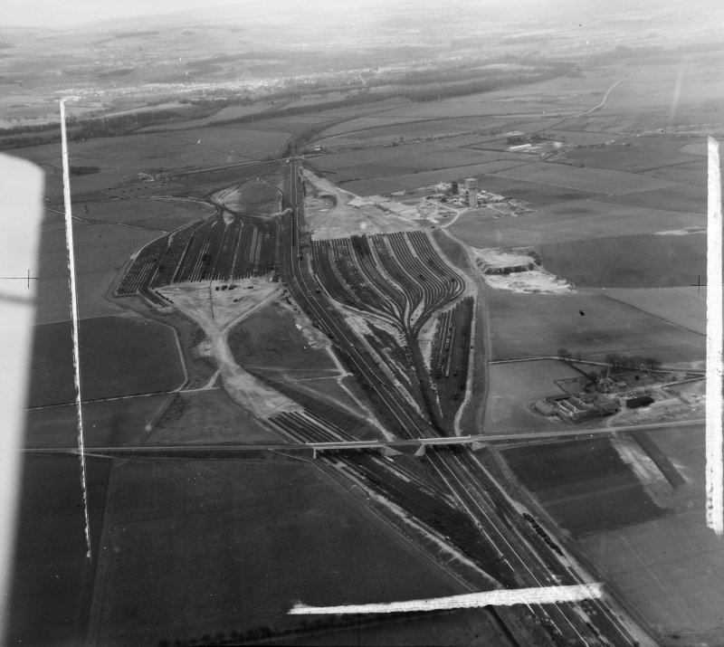 General View,Edinburgh, Midlothian, Scotland. Oblique aerial photograph taken facing South.