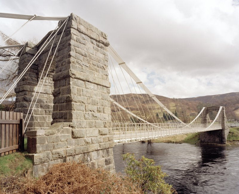 The Old Bridge of Oich View from SW