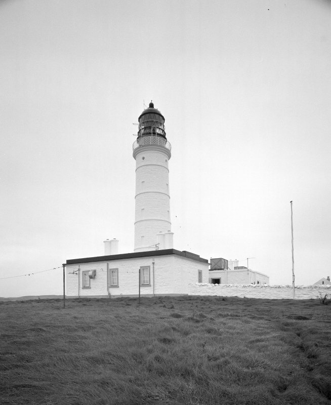 Islay, Orsay, Rhinns of Islay Lighthouse View from W of lighthouse and associated buildings