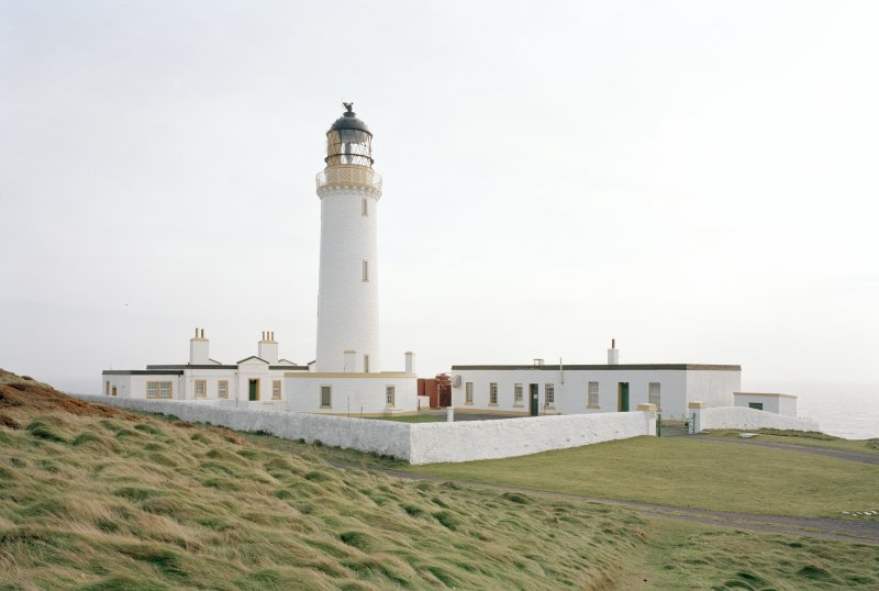 General view of the lighthouse compound from NW.