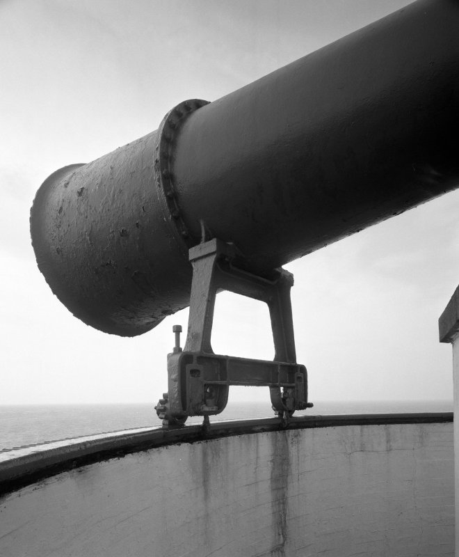 Detail of foghorn.