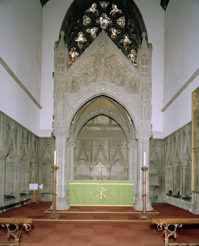 Interior. View of high altar