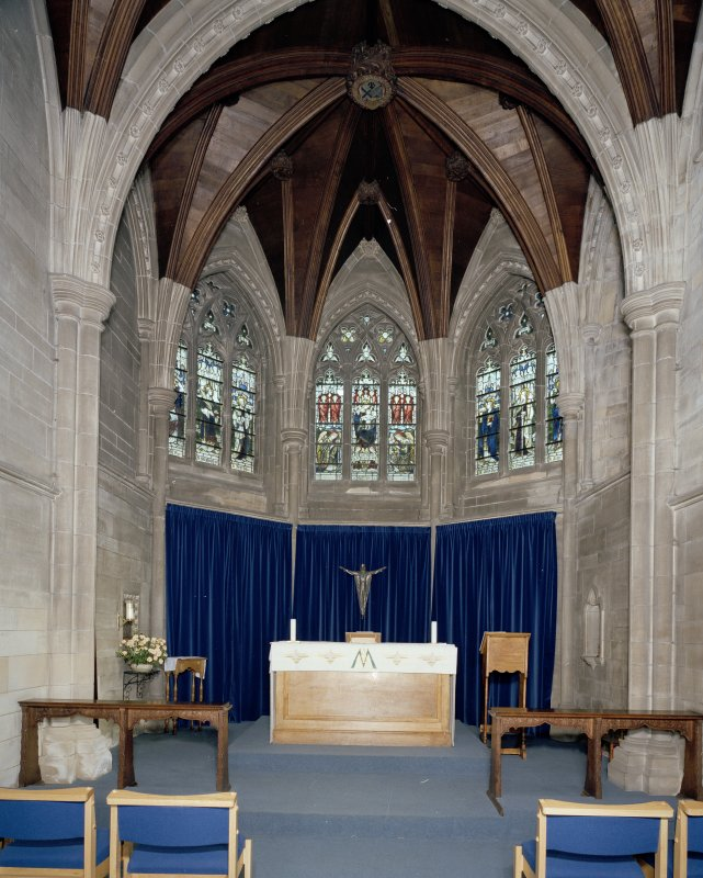 Interior. View of Lady Chapel