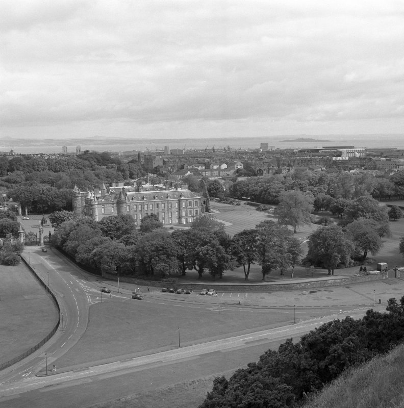 View from Salisbury Crags