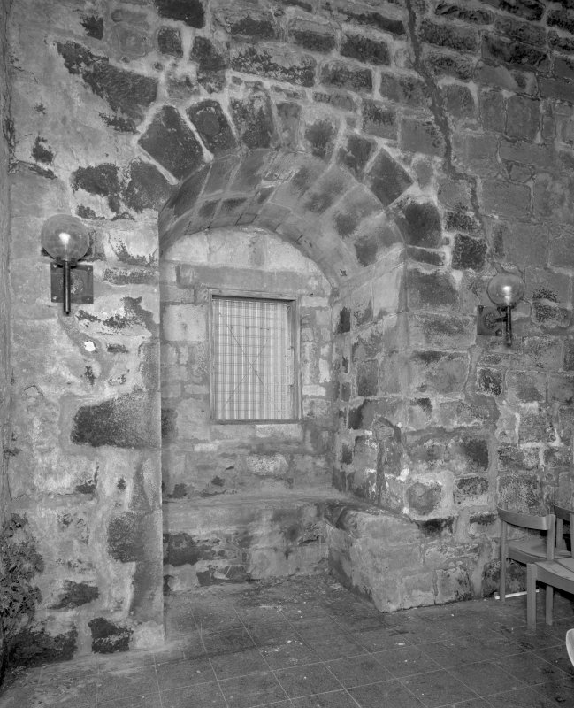 Tower, first floor Great Hall, detail of window