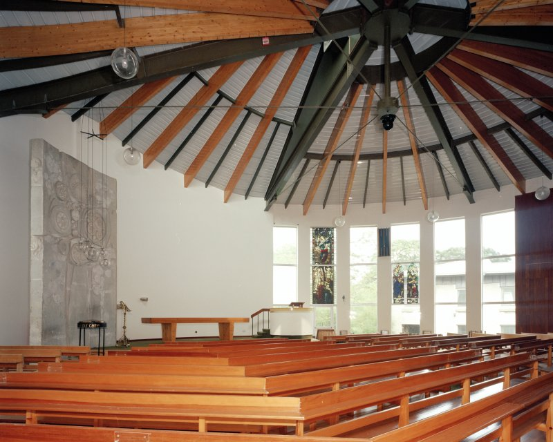 Church, view of interior from South