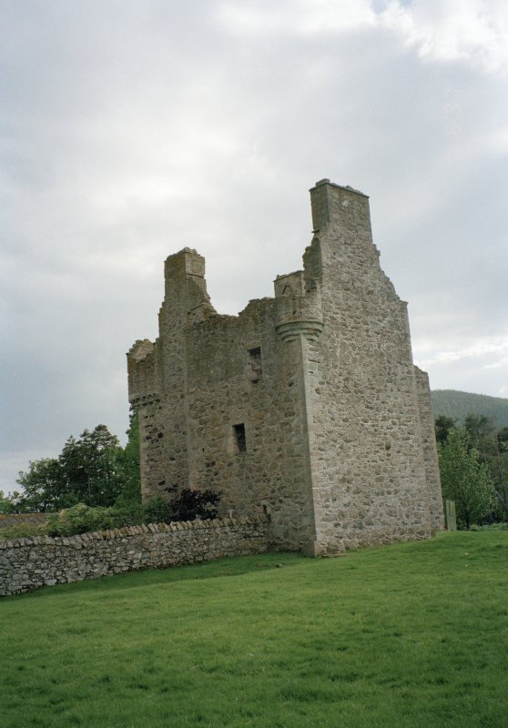 View of tower-house from SE