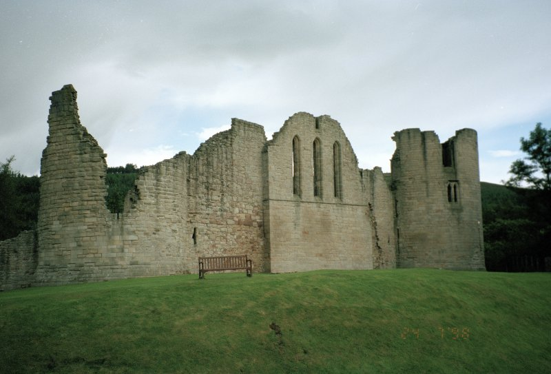 View from N of N side of castle