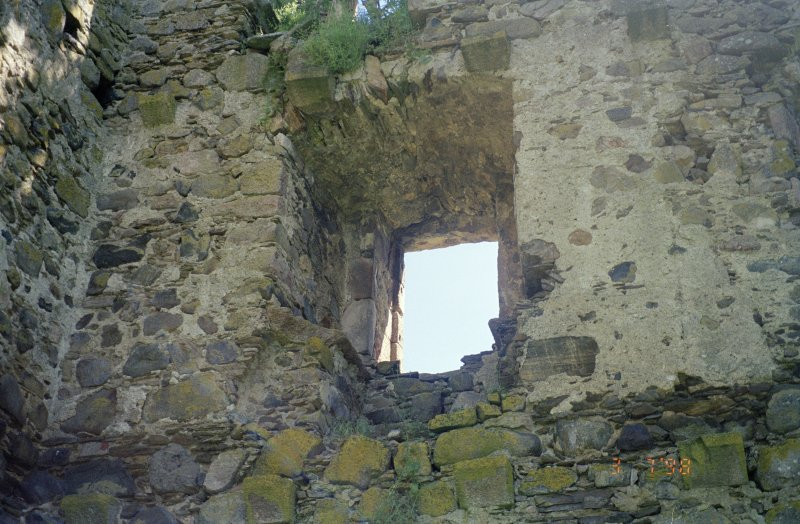 View of SE wall from interior