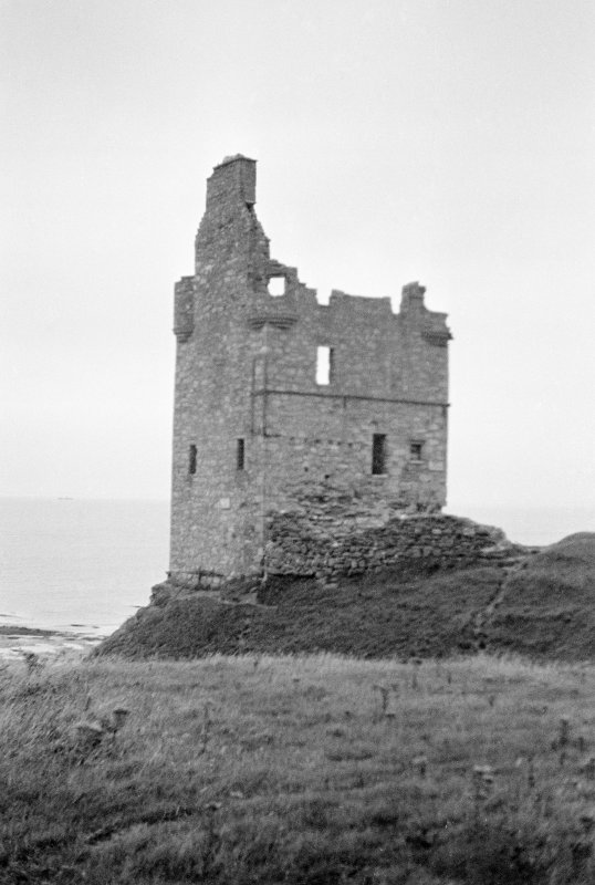Greenan Castle. General view from E.