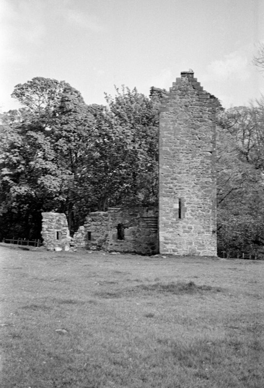 Kingencleugh Castle. View from NW.