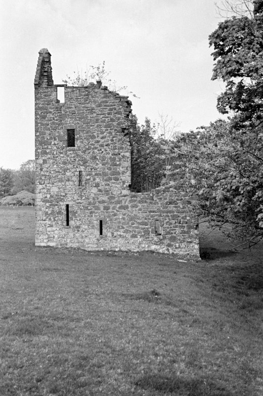 Kingencleugh Castle. View from SW.