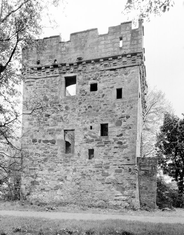 Inverkip Tower. General view from NW.