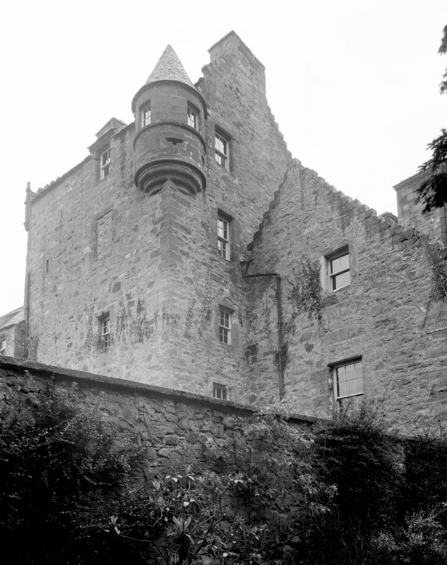 Murthly Castle. South facade.