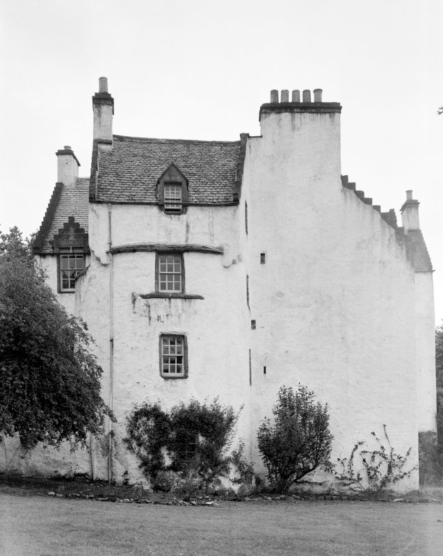 Newton Castle, Blairgowrie. General view from W.