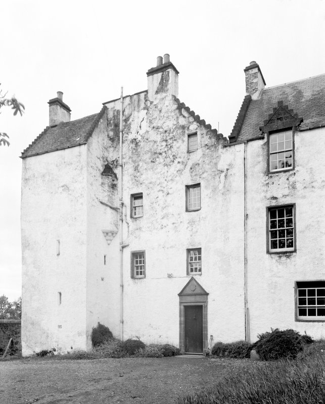Newton Castle, Blairgowrie. General view from NE.