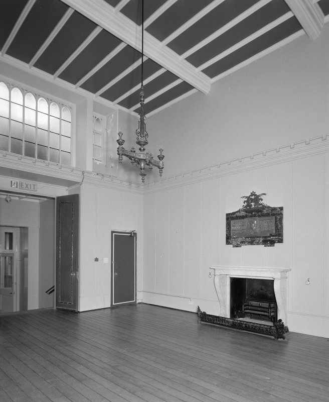 View of entrance porch from East with view through to the long gallery