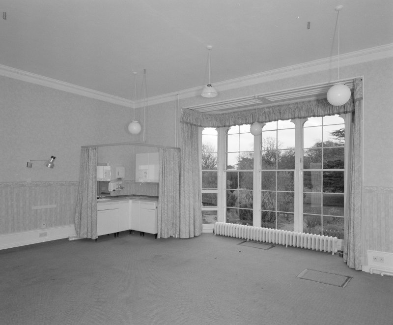 View of a first floor bedroom on South side