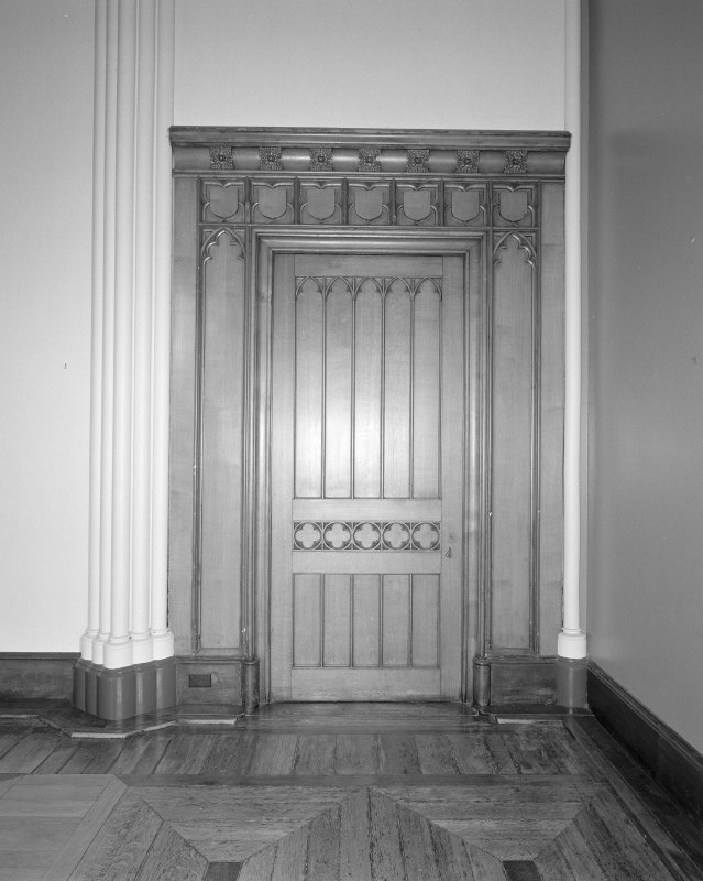 Detail of door to drawing room from the long gallery