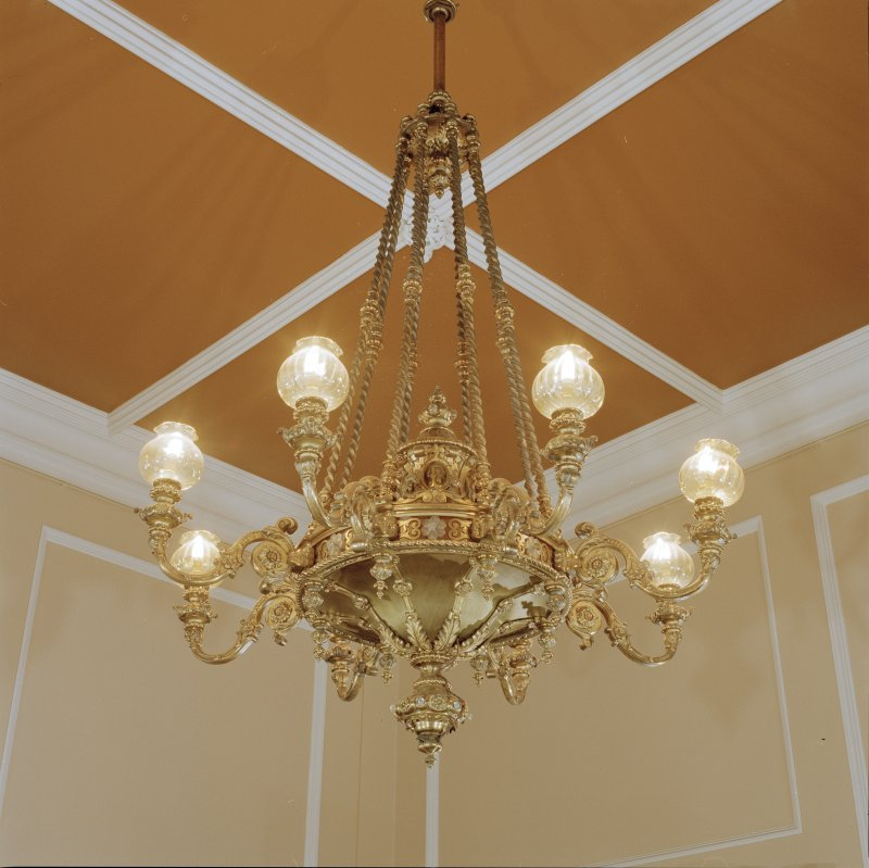 Business room, detail of light fitting
