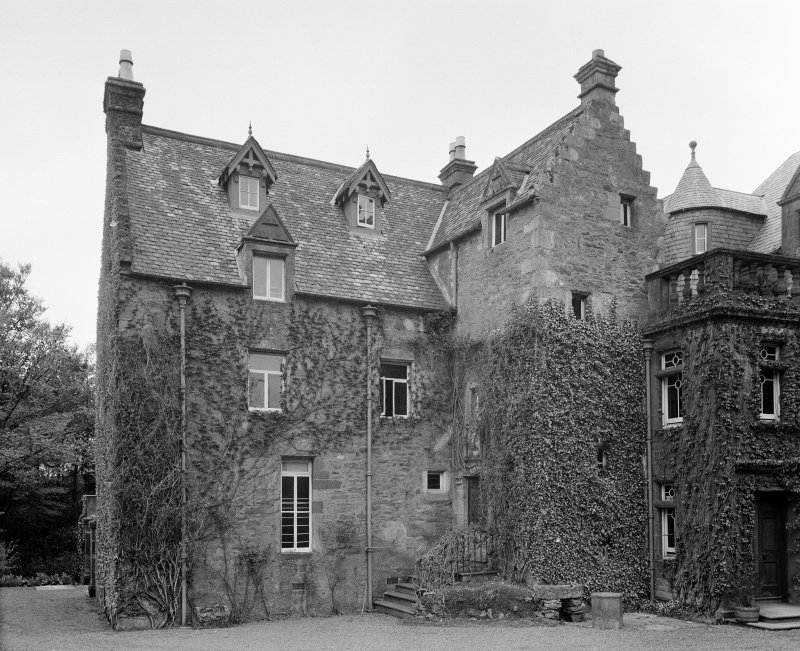 Crosbie Castle. Old portion from E.
