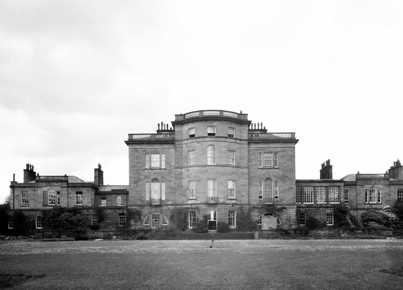 Ardgowan House. View from SW.