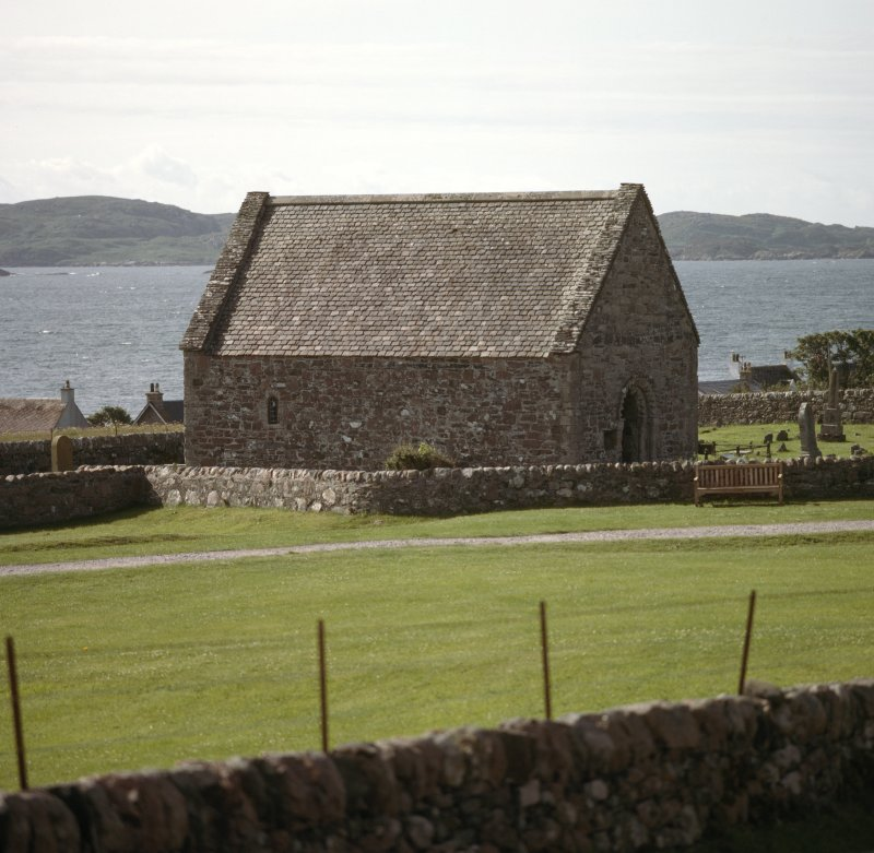 View of chapel from north west.