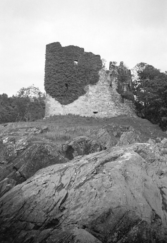 Castle Lachlan. General view from S.