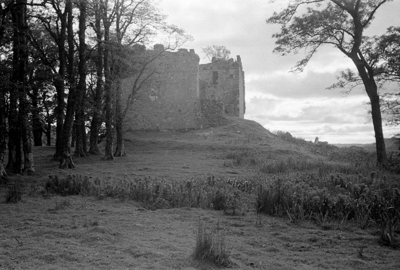 Castle Lachlan. General view from N.